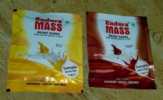 Endura Mass Gainer Samples