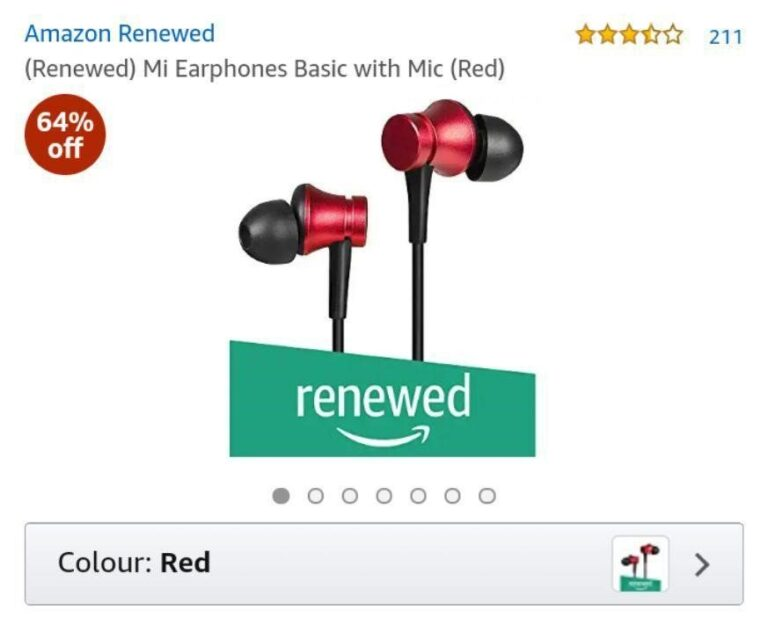 Mi Earphone Renewed