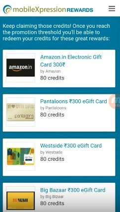 MobileXpression App Gift Card