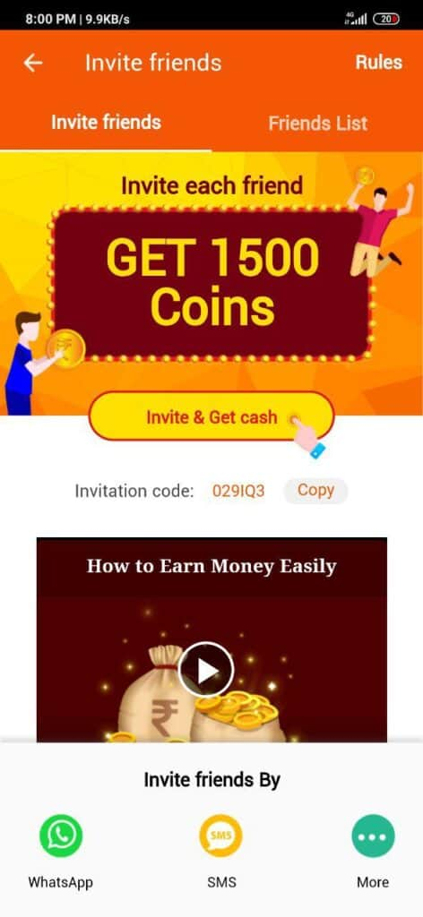 Rozdhan App Invite and Earn