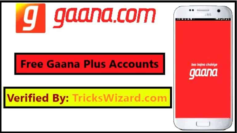 Free Gaana Accounts